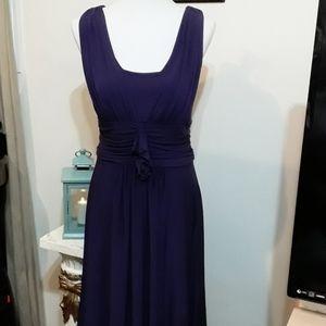 Beautiful David's Bridal Purple Dress